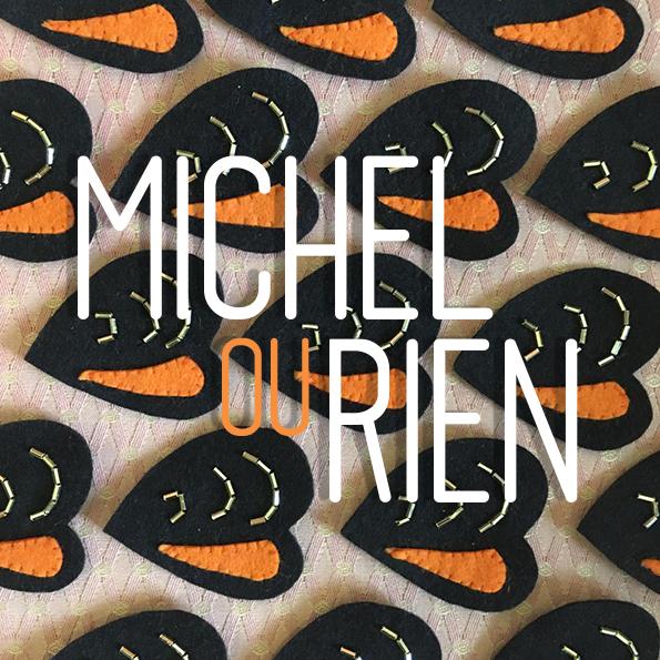 Nouveau logo pour la tournée maritime dans les îles bretonnes de michel ou rien.
